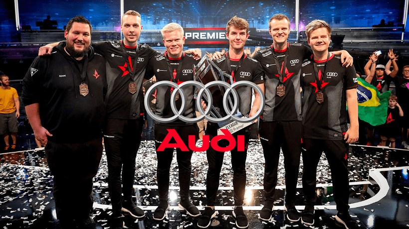 Astralis Audi Sponsor