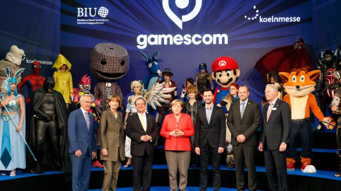 Merkel Gamescom