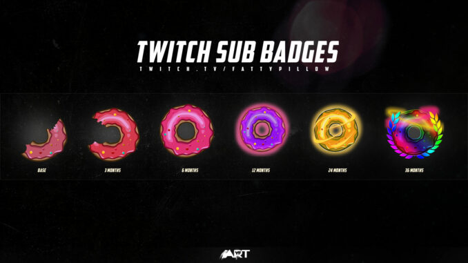 Twitch Sub Badges