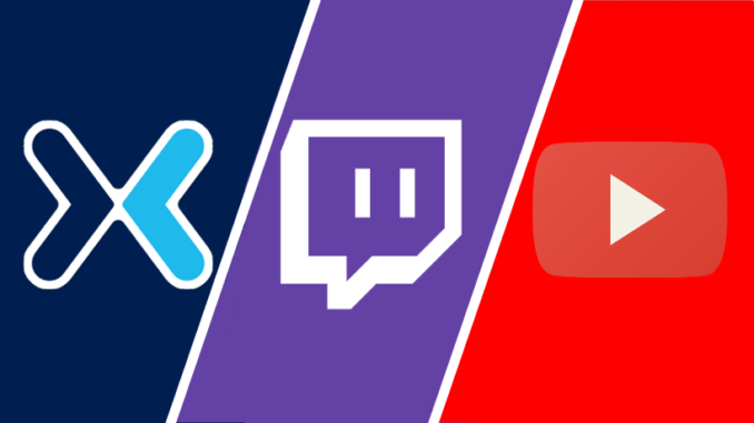 Twitch YouTube Mixer