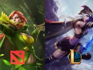 dota2 league of legends