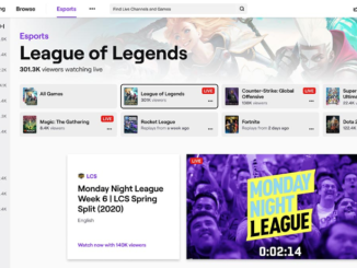 Twitch Esports