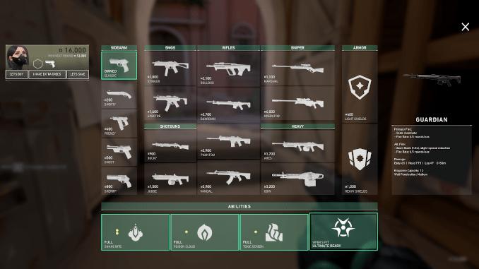 Valorant Waffen