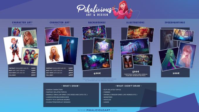 Pikalicious Twitch Designs