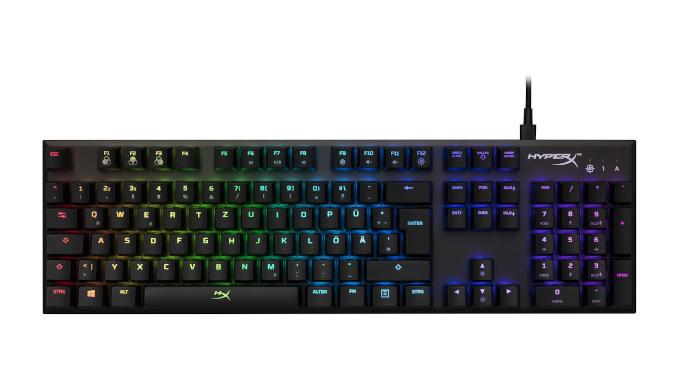 HyperX gaming tastatur