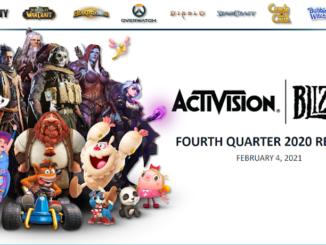 Activision Blizzard viertes Quartal 2020