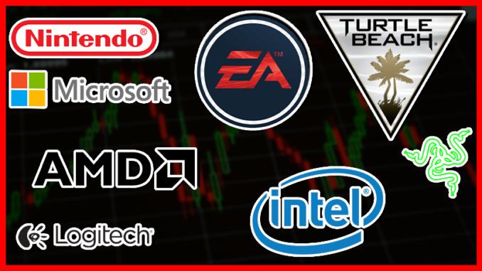Gaming Unternehmen an der Börse