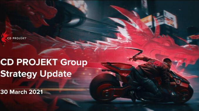CD Projekt Strategy Update