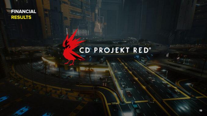 CD Projekt Geschäftszahlen 2020