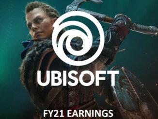 Ubisoft Geschäftszahlen 2021
