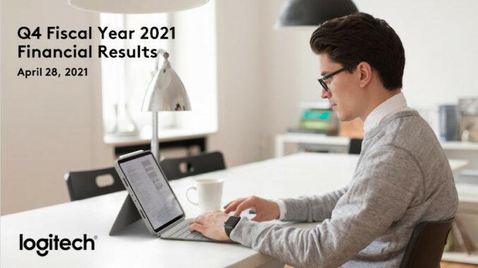 Logitech Geschäftszahlen 2021