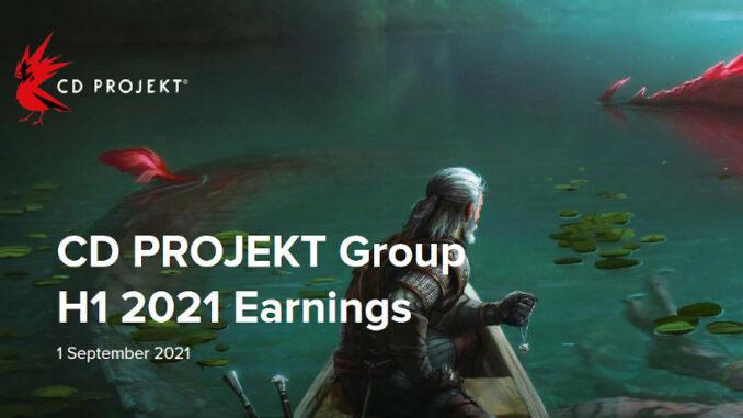 CD Projekt halbjahresbericht 2021
